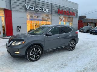 Used 2017 Nissan Rogue SL AWD*** CUIR + GPS + TOIT PANO *** WOW + Bas Kilométrage + 1 seul proprio for sale in Val-d'Or, QC