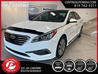 Used 2016 Hyundai Sonata 2.4L Limited ( frais vip 395$ non inclus) for sale in Rouyn-Noranda, QC