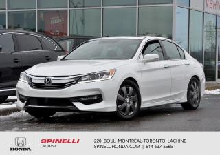 Used 2017 Honda Accord Sport TOIT MAGS AUTO TOIT CAMERA BLUETOOTH CRUISE SIEGES CHAUFFANTS for sale in Lachine, QC