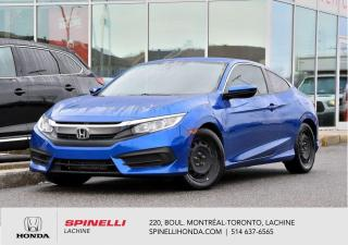 Used 2016 Honda Civic LX MANUELLE GARANTIE PROLONGEE MAGS MANUELLE AC MAGS GARANTIE PROLONGEE for sale in Lachine, QC