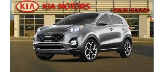 New 2021 Kia Sportage SX for sale in Owen Sound, ON