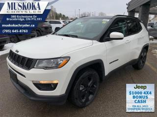 New 2021 Jeep Compass Altitude  - Leather Seats - Sunroof for sale in Bracebridge, ON