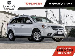 Used 2015 Dodge Journey SXT  Single Owner/ Hitch/ Accident Free/ Third Row for sale in Surrey, BC