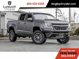 Used 2019 Chevrolet Colorado ZR2  Local/ 4x4/ Diesel/ Accident Free for sale in Surrey, BC
