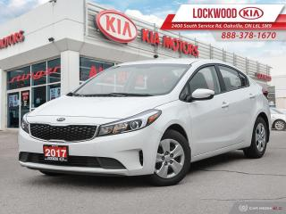 Used 2017 Kia Forte 4dr Sdn Auto LX - ONE OWNER, CLEAN CARFAX! for sale in Oakville, ON