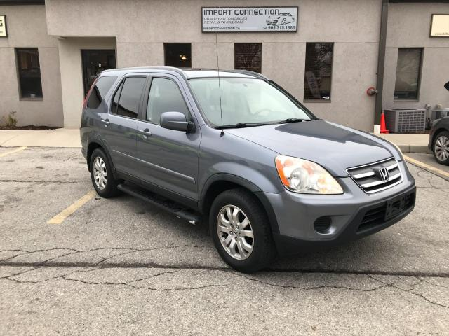 2006 Honda CR-V 4WD EX-L Auto,LEATHER,SUNROOF,CERTIFIED!!