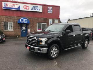 Used 2015 Ford F-150 XTR SuperCrew, Only 50K !! $210 BiWeekly OAC* for sale in Kingston, ON