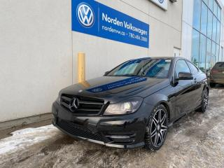 Used 2015 Mercedes-Benz C-Class C350 COUPE 4MATIC - LOADED! for sale in Edmonton, AB