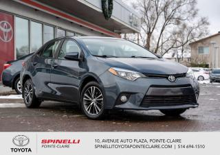 Used 2016 Toyota Corolla LE UPGRADE DEMARREUR A DISTANCE for sale in Pointe-Claire, QC