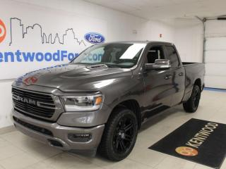 Used 2019 RAM 1500 SPORT | 4x4 | Heated Leather | One Owner | Clean Carproof | for sale in Edmonton, AB
