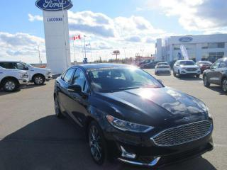 Used 2019 Ford Fusion Hybrid Titanium for sale in Lacombe, AB