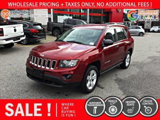 Used 2016 Jeep Compass Sport 4x2 for sale in Richmond, BC