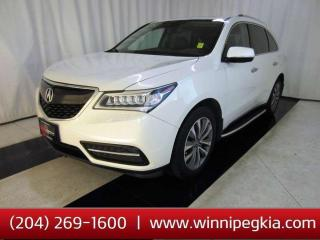 Used 2016 Acura MDX Tech Pkg *Accident Free!* for sale in Winnipeg, MB