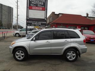 Used 2002 Toyota RAV4 LIMITED / LEATHER / ROOF / LOW KM / AWD /. MINT for sale in Scarborough, ON