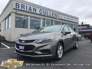 Used 2017 Chevrolet Cruze LT  - Low Mileage for sale in St Catharines, ON