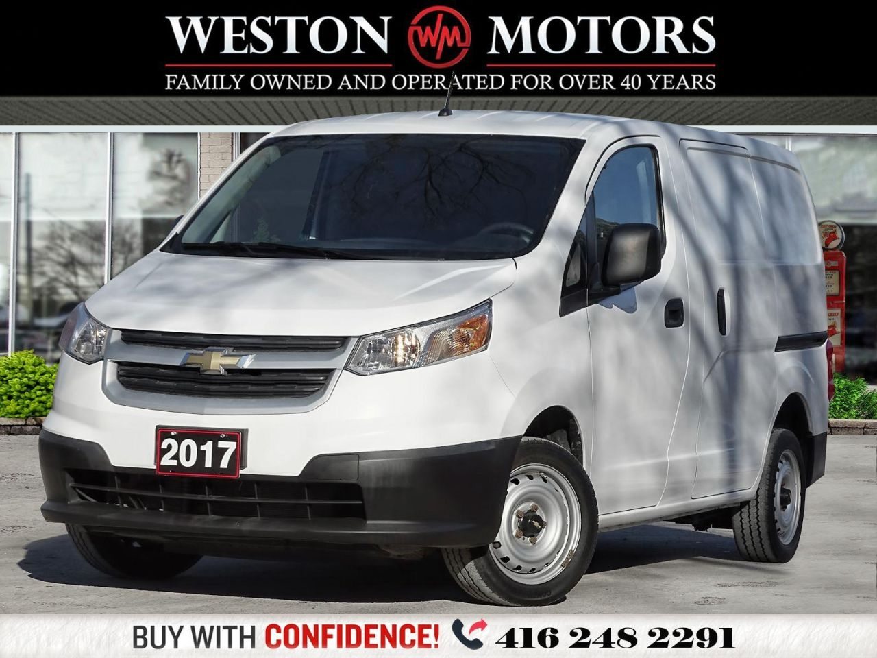 2017 Chevrolet City Express LS*POWER GROUP*BLUETOOTH*READY FOR WORK!