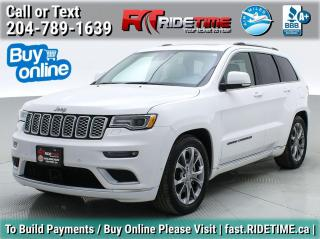 Used 2020 Jeep Grand Cherokee Summit for sale in Winnipeg, MB