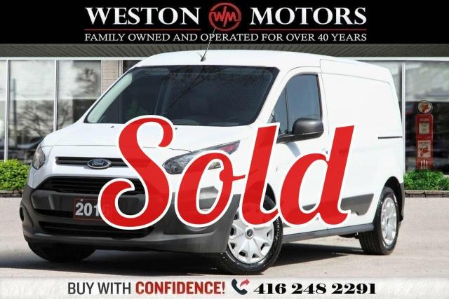 2016 Ford Transit Connect XL*4CYL*SLIDING DOOR*SHELVING*REVERSE CAM*LEATHER