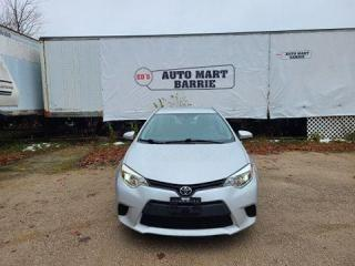 Used 2014 Toyota Corolla LE for sale in Barrie, ON