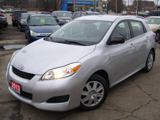 Used 2013 Toyota Matrix AUTO,A/C,CERTIFIED,CLEAN CAR FAX,POWER GROUP for sale in Kitchener, ON