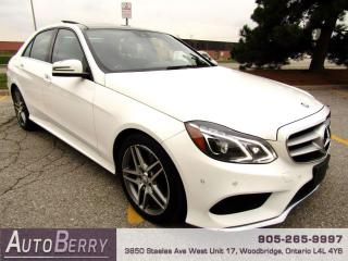 Used 2016 Mercedes-Benz E-Class E400 Luxury 4MATIC Sedan E-Class E400 4MATIC for sale in Woodbridge, ON