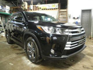 Used 2018 Toyota Highlander LIMITED  for sale in Brampton, ON