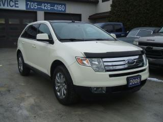 Used 2009 Ford Edge Limited, AWD, Pano Roof for sale in Beaverton, ON