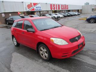 Used 2004 Toyota Matrix ~ AUTO ~ A/C ~ AS IS for sale in Toronto, ON