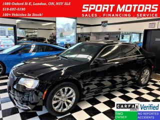 Used 2016 Chrysler 300 Touring AWD+Roof+New Tires+ACCIDENT FREE for sale in London, ON