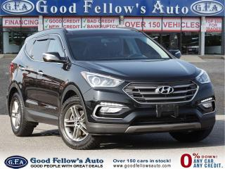 Used 2017 Hyundai Santa Fe Sport LUXURY, AWD, PAN ROOF, LEATHER SEATS, NAVIGATION for sale in Toronto, ON