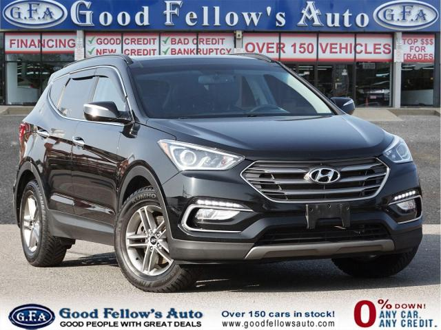 2017 Hyundai Santa Fe Sport LUXURY, AWD, PAN ROOF, LEATHER SEATS, NAVIGATION