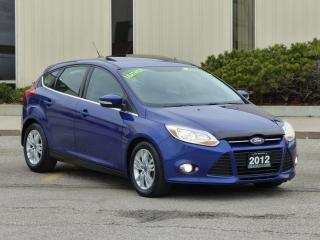 Used 2012 Ford Focus LEATHER,SEL,FULLY LOADED,NO-ACCIDENT,CERTIFIED for sale in Mississauga, ON