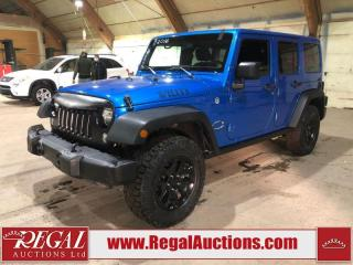 Used 2016 Jeep Wrangler 4D Utility 4WD for sale in Calgary, AB