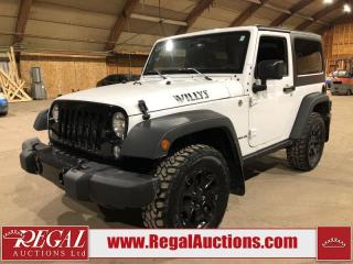 Used 2015 Jeep Wrangler Sport 2D Utility for sale in Calgary, AB
