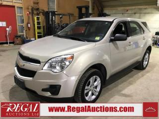 Used 2011 Chevrolet Equinox LS 4D Utility FWD for sale in Calgary, AB