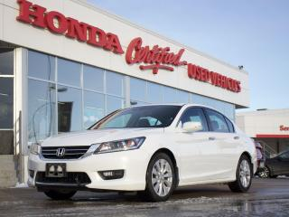 Used 2015 Honda Accord EX-L | BRAND NEW TIRES | LEATHER for sale in Winnipeg, MB