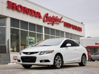 Used 2012 Honda Civic Si | NAVIGATION | SUNROOF | for sale in Winnipeg, MB