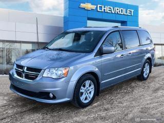 Used 2014 Dodge Grand Caravan Crew Leather | Bluetooth | Heated Seats for sale in Winnipeg, MB