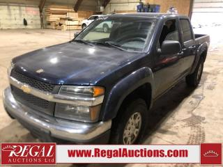 Used 2008 Chevrolet Colorado LT 4D CREW CAB RWD for sale in Calgary, AB