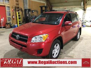 Used 2009 Toyota RAV4 Base 4D Utility 4WD for sale in Calgary, AB