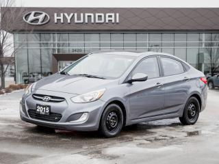 Used 2015 Hyundai Accent SE Heated Seats   Bluetooth   Sunroof for sale in Winnipeg, MB