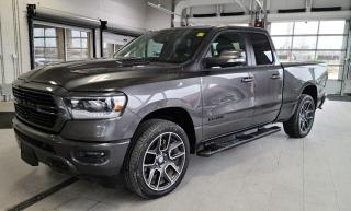 Used 2020 RAM 1500 4X4 Sport Quad Loaded w Heated Grp Apple Carplay for sale in Ottawa, ON