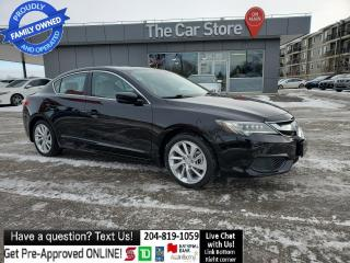 Used 2016 Acura ILX Tech Pkg NAVI Local NO ACCIDENTS Leather Sunroof for sale in Winnipeg, MB