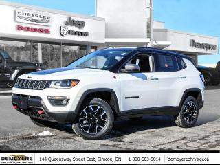 New 2021 Jeep Compass Trailhawk Elite for sale in Simcoe, ON