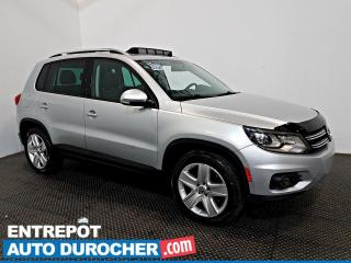 Used 2014 Volkswagen Tiguan AWD TOIT OUVRANT - A/C - Caméra de Recul for sale in Laval, QC