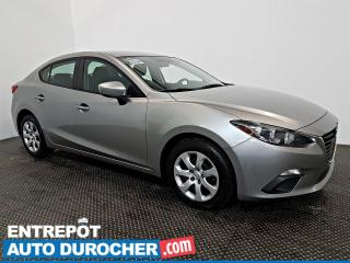 Used 2016 Mazda MAZDA3 Automatique - AIR CLIMATISÉ - Caméra de Recul for sale in Laval, QC