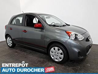 Used 2016 Nissan Micra SV Automatique - AIR CLIMATISÉ - Groupe Électrique for sale in Laval, QC