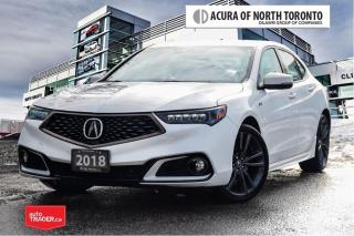 Used 2018 Acura TLX 3.5L SH-AWD w/Tech Pkg A-Spec Red No Accident| Rem for sale in Thornhill, ON