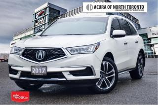 Used 2017 Acura MDX Tech No Accident| Dealer Serviced| DVD for sale in Thornhill, ON