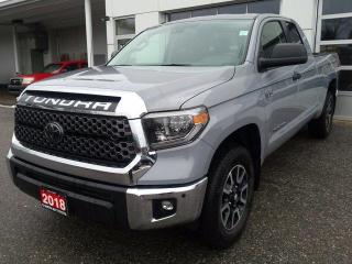 Used 2018 Toyota Tundra 4X4 Double Cab SR5 Plus 5.7L for sale in North Bay, ON